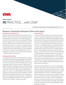CNA Article