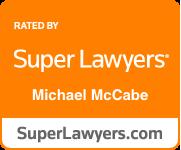Super Lawyers Badge Michael E. McCabe, Jr.